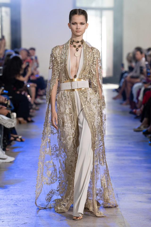 BST Haute Couture Thu - Đông 2019 của Elise Saab: phương Đông huyền bí - Ảnh 13.