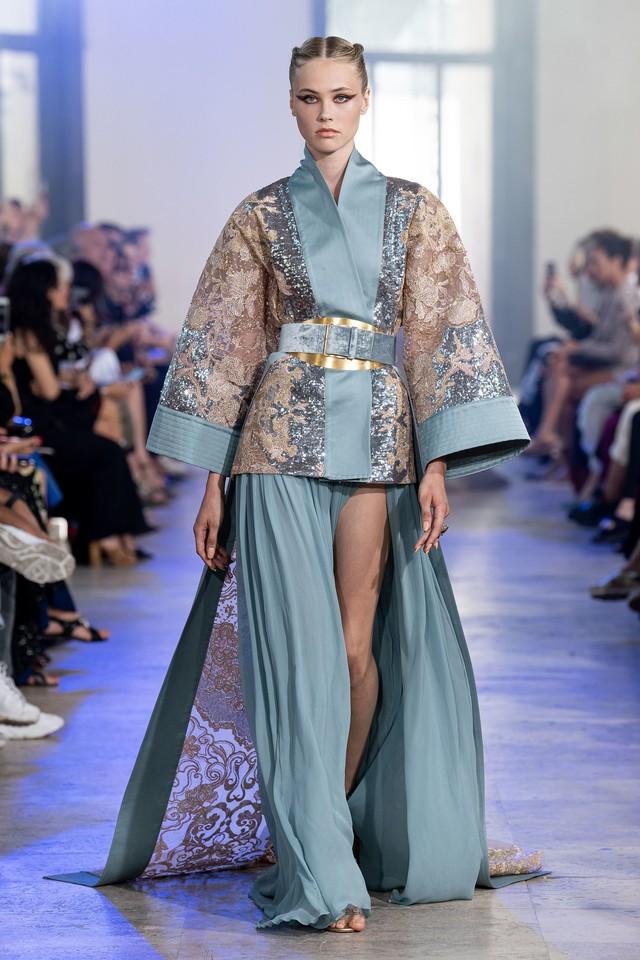 BST Haute Couture Thu - Đông 2019 của Elise Saab: phương Đông huyền bí - Ảnh 16.