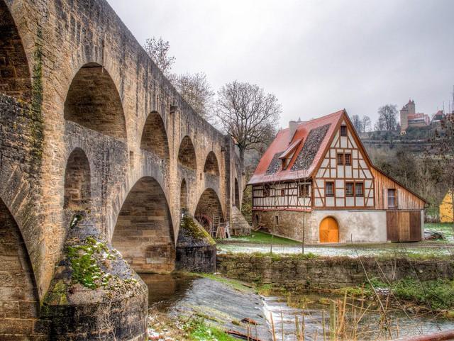 Rothenburg: thị trấn lãng mạn nhất nước Đức - Ảnh 12.