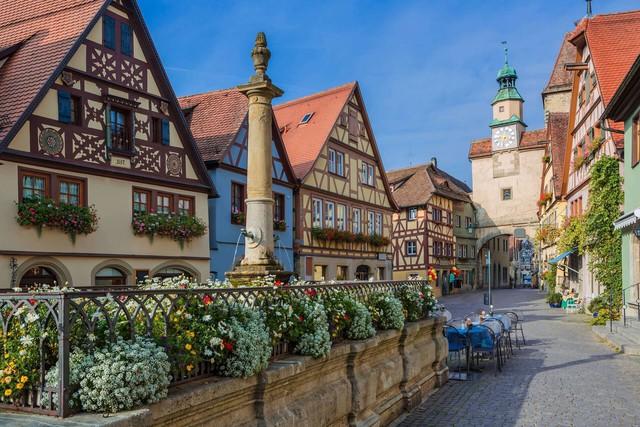 Rothenburg: thị trấn lãng mạn nhất nước Đức - Ảnh 8.