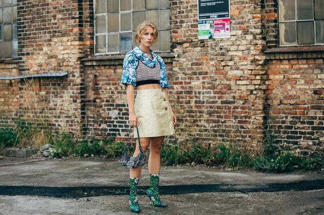 Trang phục street style tại Tuần lễ thời trang Copenhagen 2020 - Ảnh 12.