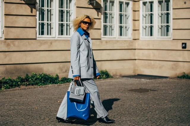 Trang phục street style tại Tuần lễ thời trang Copenhagen 2020 - Ảnh 13.