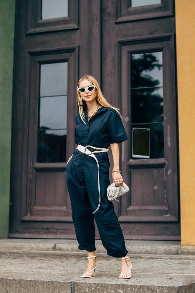 Trang phục street style tại Tuần lễ thời trang Copenhagen 2020 - Ảnh 18.