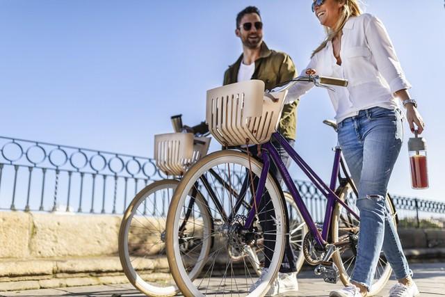 Chiếc xe đạp làm từ viên nén cà phê - Ảnh 1.