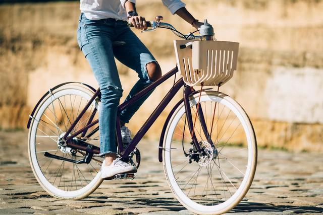 Chiếc xe đạp làm từ viên nén cà phê - Ảnh 2.