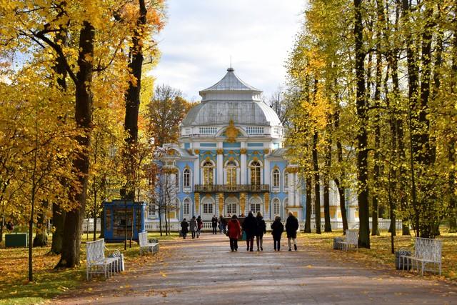 Ngắm mùa thu vàng ở cố đô của nước Nga - Ảnh 10.