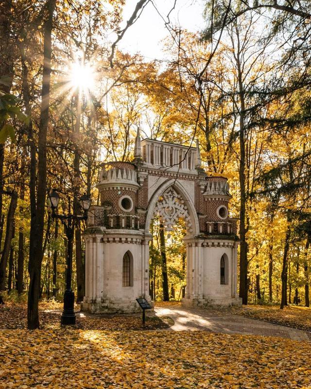 Ngắm mùa thu vàng ở cố đô của nước Nga - Ảnh 13.