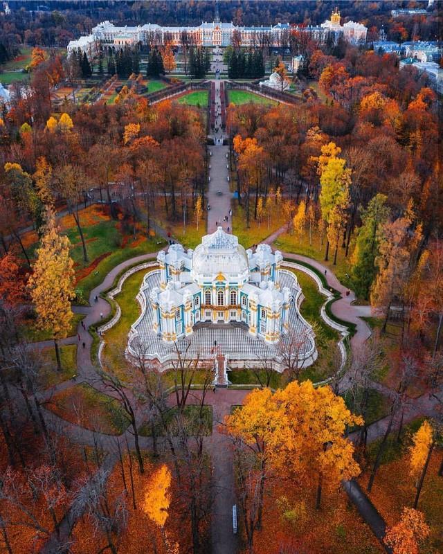 Ngắm mùa thu vàng ở cố đô của nước Nga - Ảnh 14.