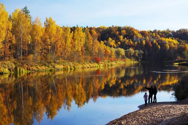 Ngắm mùa thu vàng ở cố đô của nước Nga - Ảnh 15.