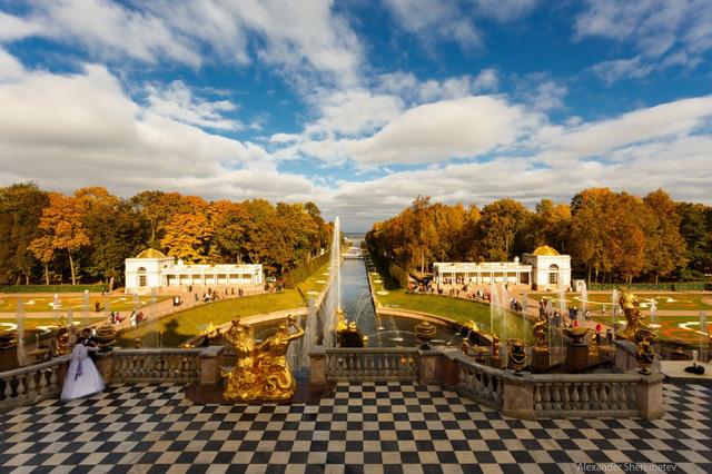 Ngắm mùa thu vàng ở cố đô của nước Nga - Ảnh 4.