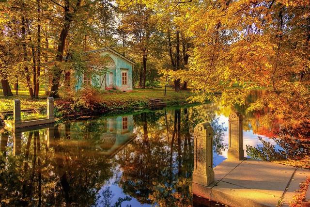 Ngắm mùa thu vàng ở cố đô của nước Nga - Ảnh 5.