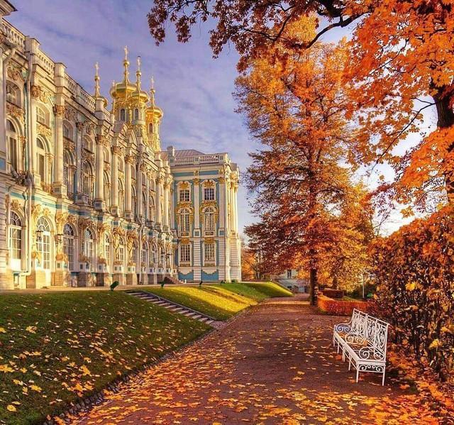 Ngắm mùa thu vàng ở cố đô của nước Nga - Ảnh 12.