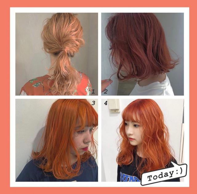 5 màu tóc nhuộm sẽ hot mùa thu đông này - Ảnh 2.
