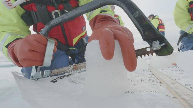 Hạt vi nhựa đã bay đến tận Bắc Cực - Ảnh 1.