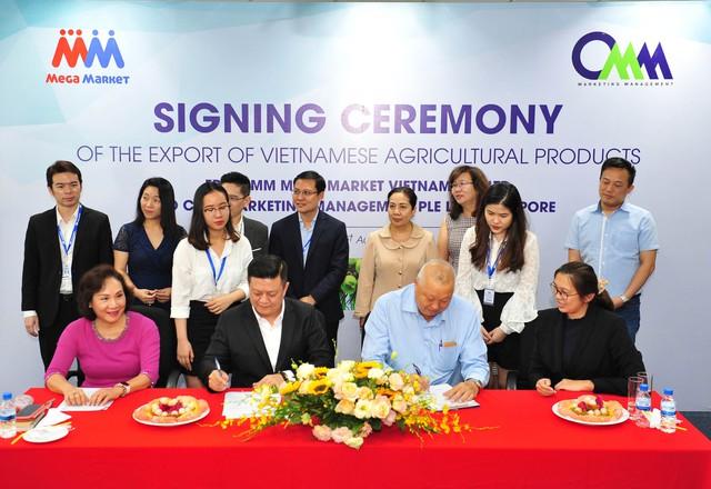 Nông sản Việt tiến vào thị trường Singapore - Ảnh 1.