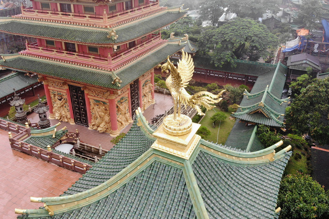 Ngôi chùa mang phong cách Nhật Bản giữa phố núi Gia Lai - Ảnh 4.