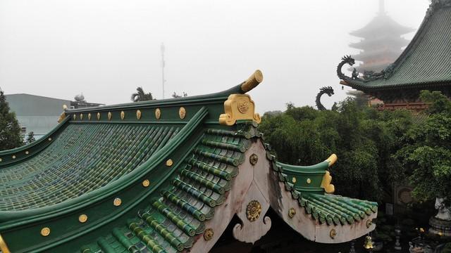 Ngôi chùa mang phong cách Nhật Bản giữa phố núi Gia Lai - Ảnh 5.