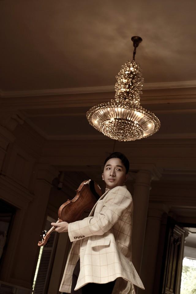 """Ra mắt album """"Trò chuyện"""" của violinist Hoàng Rob - Ảnh 2."""