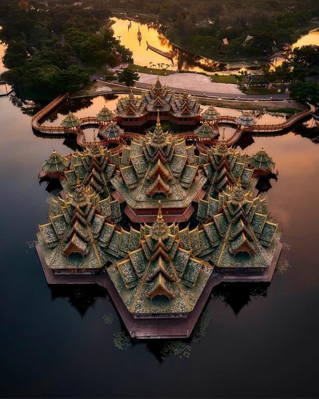 Muang Boran: thành phố cổ xưa giữa Bangkok - Ảnh 2.