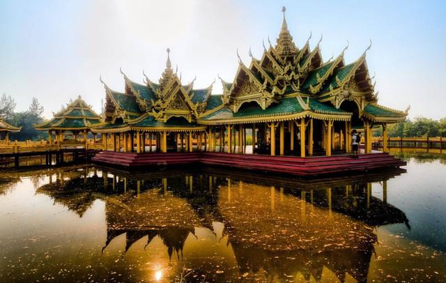 Muang Boran: thành phố cổ xưa giữa Bangkok - Ảnh 3.