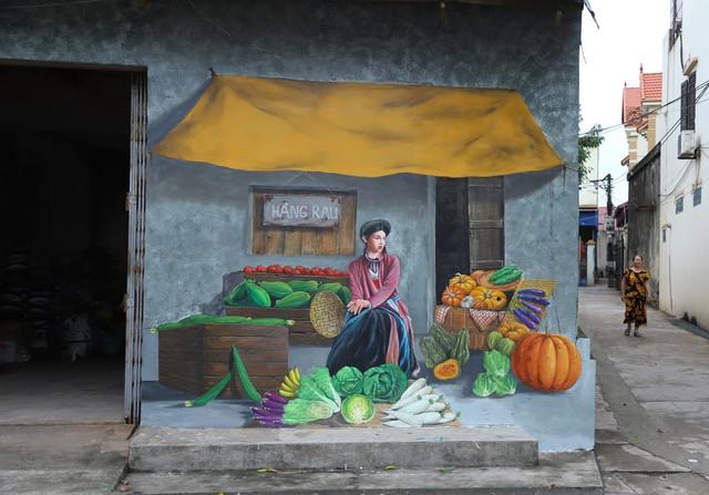 Về Chử Xá check in cùng tranh tường vẽ sản vật nông nghiệp - Ảnh 10.