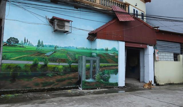 Về Chử Xá check in cùng tranh tường vẽ sản vật nông nghiệp - Ảnh 3.