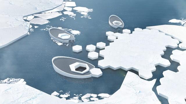 Tạo băng cho Bắc cực: các nhà khoa học vào cuộc - Ảnh 3.