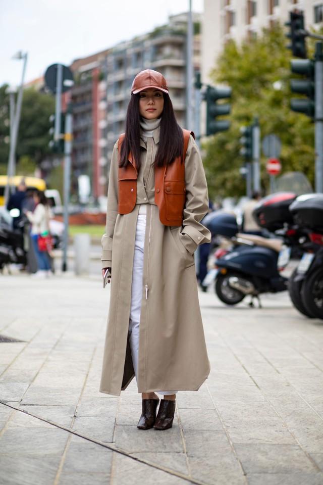 Chất liệu da nhuộm phủ sóng Milan Fashion Week - Ảnh 6.