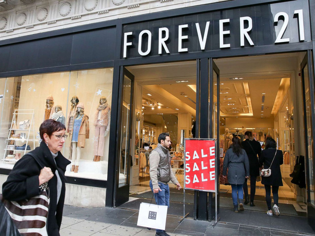 Thương hiệu Forever 21 nộp đơn xin bảo hộ phá sản tại Mỹ - Ảnh 3.