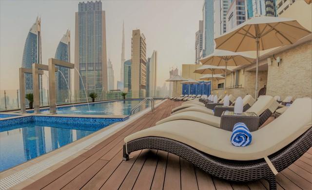 Tham quan khách sạn chọc trời tại Dubai - Ảnh 8.