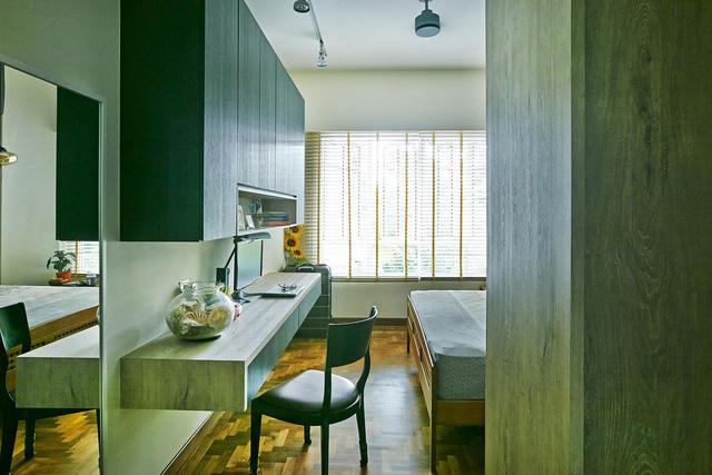 Căn hộ kết hợp giữa gỗ mộc và đồ nội thất sắc màu - Ảnh 6.