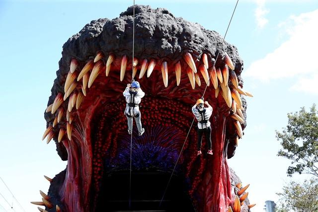 Bảo tàng Godzilla đầu tiên trên thế giới đã mở cửa - Ảnh 3.