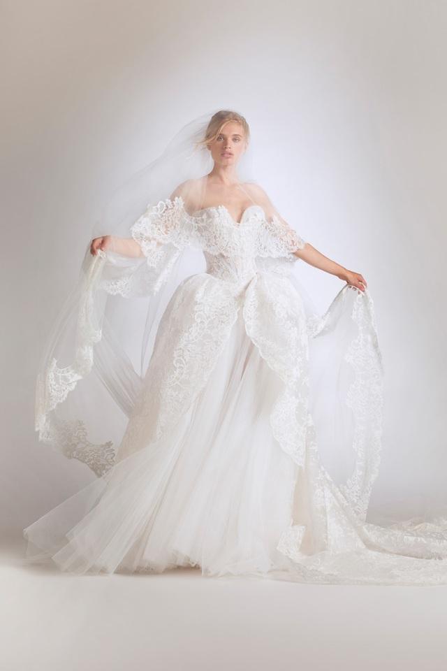 10 bộ váy cô dâu đẹp nhất mùa cưới này - Ảnh 10.