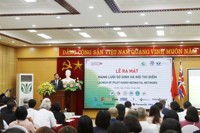 9 bệnh viện tham gia thí điểm Mạng lưới Sơ sinh Hà Nội - Ảnh 1.