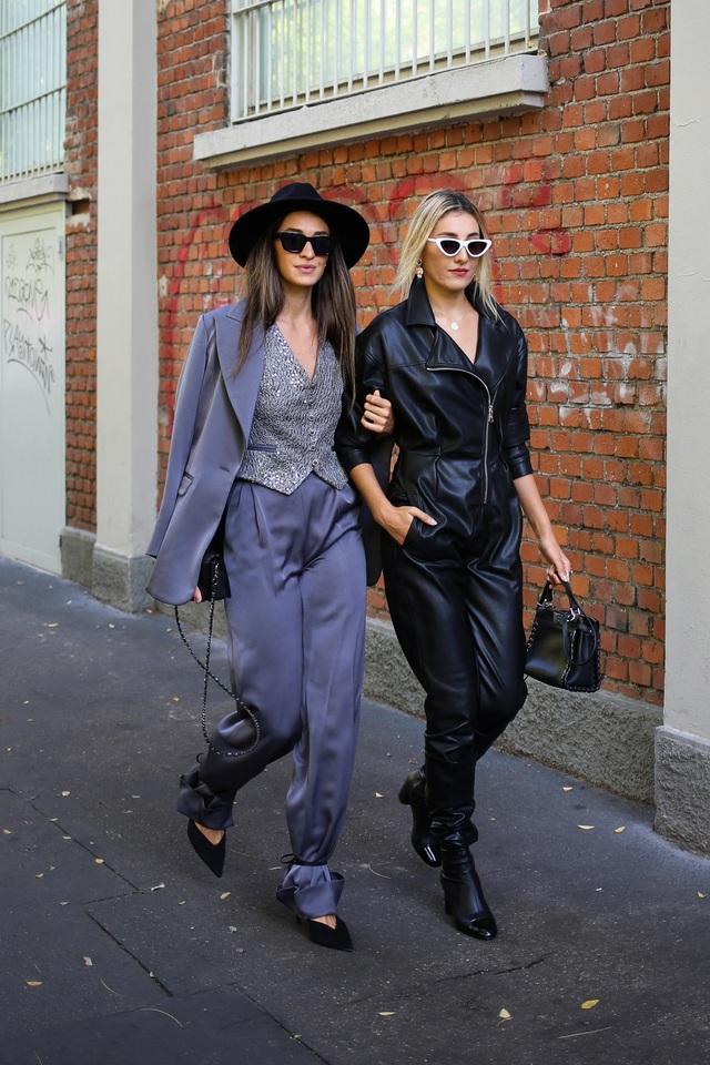Street style tại các tuần lễ thời trang: suits vẫn phủ sóng - Ảnh 6.