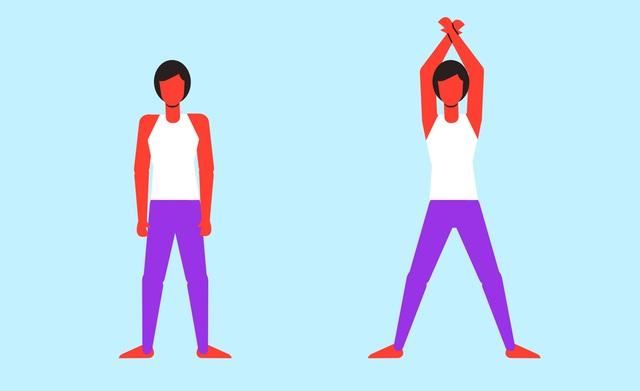 6 động tác giảm cân tại nhà mà ai cũng có thể tập - Ảnh 1.