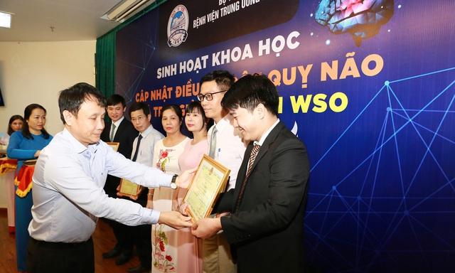 BV Trung ương Huế đạt Giải thưởng Platinum của Hội Đột quỵ thế giới - Ảnh 2.