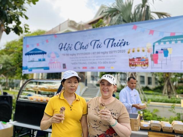 Hội chợ từ thiện gây quỹ ủng hộ miền Trung tại The Secret Côn Đảo - Ảnh 4.