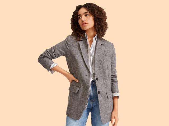 17 mẫu áo blazer được yêu thích trong năm nay - Ảnh 3.