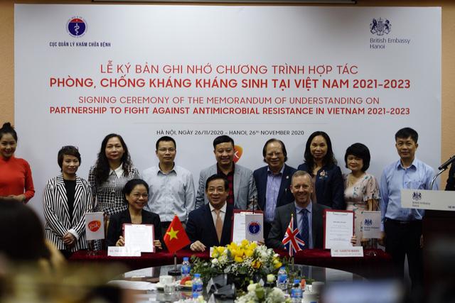 Chương trình hợp tác phòng, chống kháng kháng sinh tại Việt Nam - Ảnh 1.