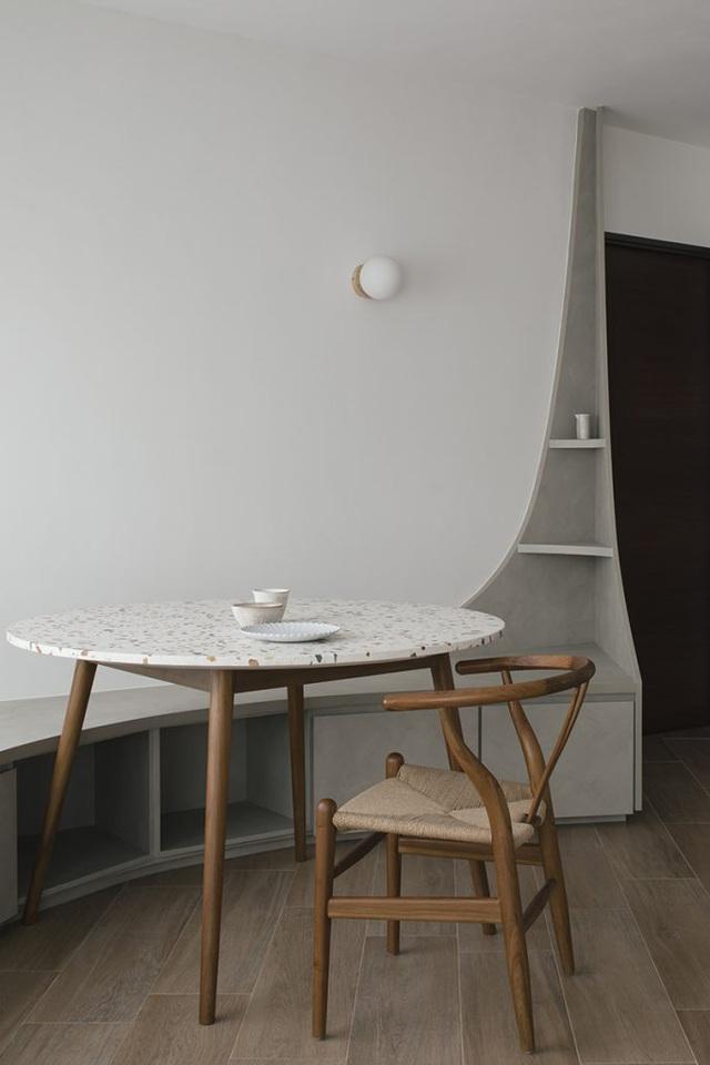 Căn hộ kỳ lạ với phòng khách tròn dành cho những cuộc tụ họp  - Ảnh 1.