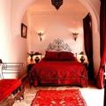 19 thiết kế phòng ngủ với tông đỏ rực rỡ