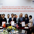 Chương trình hợp tác phòng, chống kháng kháng sinh tại Việt Nam