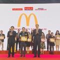 McDonald's liên tiếp năm thứ 3 nhận giải thưởng Top 100 sản phẩm - dịch vụ Tin Dùng Việt Nam