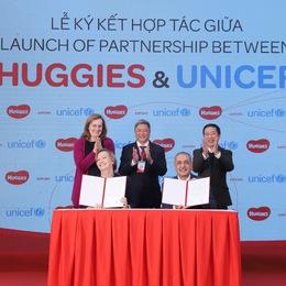 Kimberly-Clark và UNICEF công bố dự định hợp tác tại Việt Nam