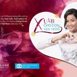 Cùng Oriflame góp sức mang xuân đến với làng trẻ em SOS Việt Nam