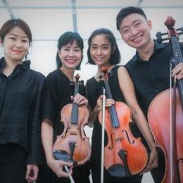 Chương trình hòa nhạc sân vườn với tứ tấu đàn dây