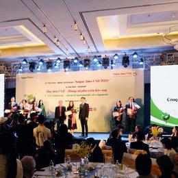 Oriflame nhận giải thưởng Doanh nghiệp tích cực hoạt động vì cộng đồng 2020