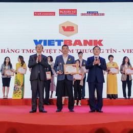 """Vietbank được bình chọn """"Ngân hàng bán lẻ uy tín"""" năm 2020"""