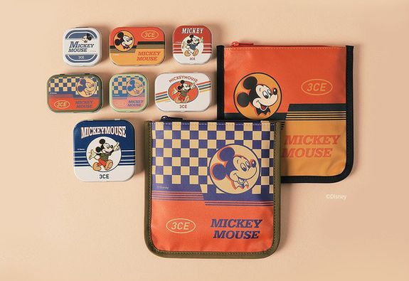 BST mỹ phẩm mang phong cách retro của 3CE và Disney
